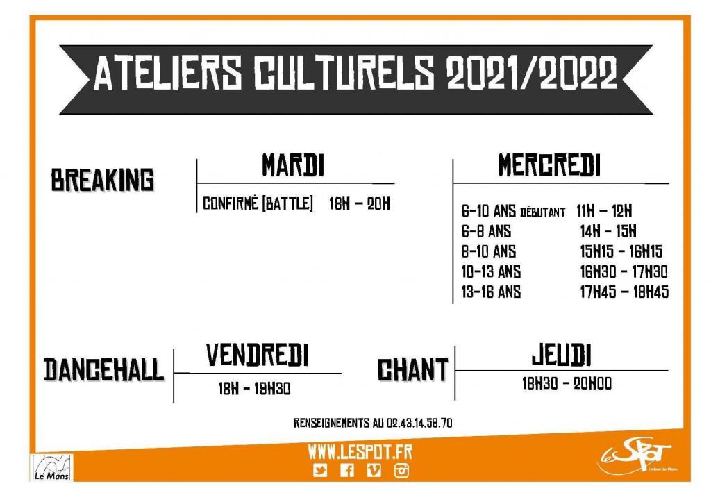 Saison 2021  2022 culturels